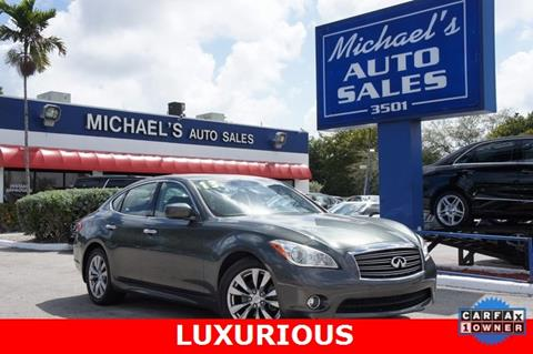 2013 Infiniti M37 for sale in West Park, FL