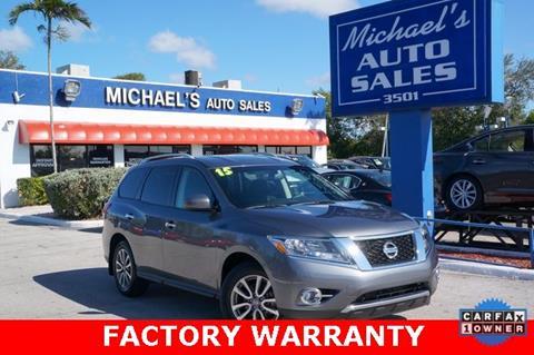 2015 Nissan Pathfinder for sale in West Park, FL