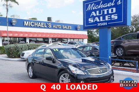 2015 Infiniti Q40 for sale in West Park, FL