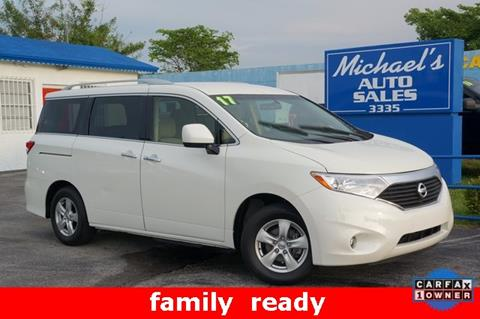 2017 Nissan Quest for sale in West Park, FL