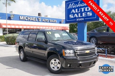 2013 Chevrolet Suburban for sale in West Park, FL