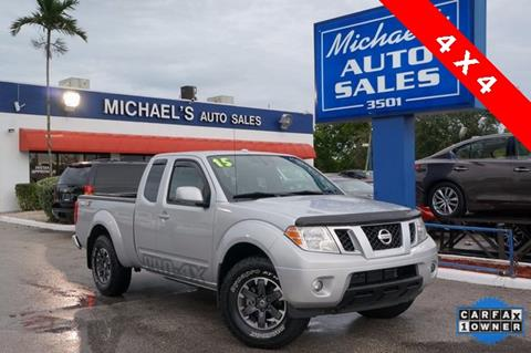 2015 Nissan Frontier for sale in West Park, FL