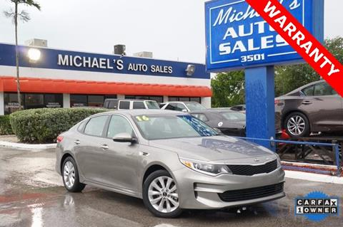 2016 Kia Optima for sale in West Park, FL