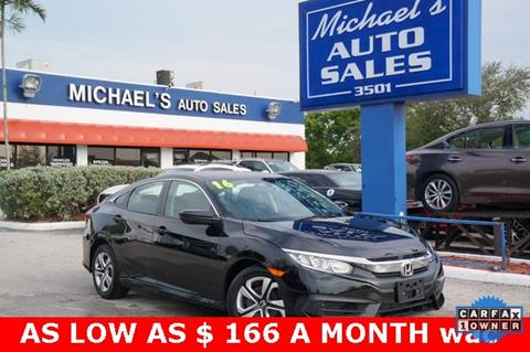 2016 Honda Civic for sale in West Park, FL