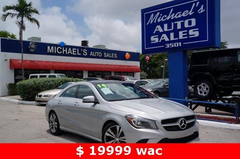 2014 Mercedes-Benz CLA for sale in West Park, FL