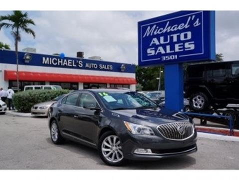 2016 Buick LaCrosse for sale in West Park, FL