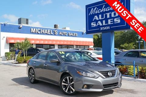 2016 Nissan Altima for sale in Hollywood, FL