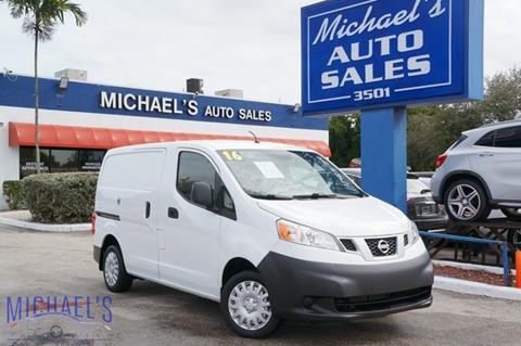 2016 Nissan NV200 for sale in Hollywood, FL