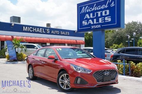 2019 Hyundai Sonata for sale in Hollywood, FL