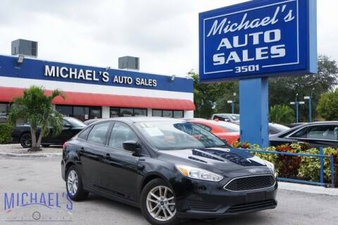 2018 Ford Focus for sale at Michael's Auto Sales Corp in Hollywood FL