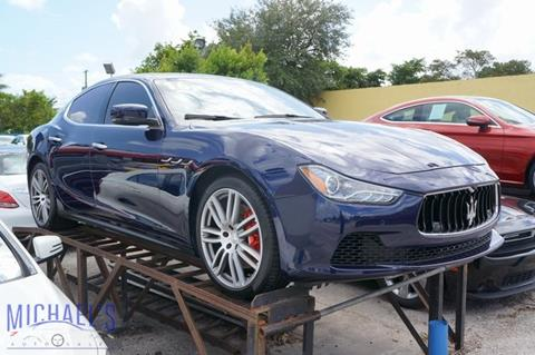 2016 Maserati Ghibli for sale in Hollywood, FL