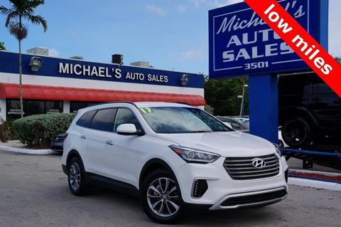 2017 Hyundai Santa Fe for sale in Hollywood, FL