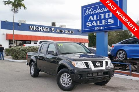 2019 Nissan Frontier for sale in Hollywood, FL