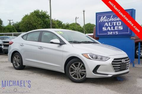2018 Hyundai Elantra for sale at Michael's Auto Sales Corp in Hollywood FL