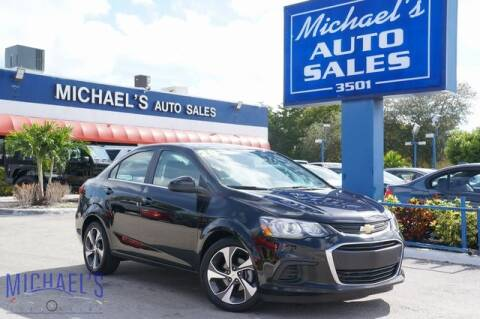 2019 Chevrolet Sonic for sale at Michael's Auto Sales Corp in Hollywood FL