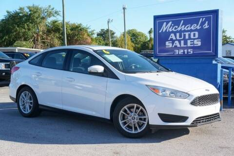 2016 Ford Focus for sale at Michael's Auto Sales Corp in Hollywood FL