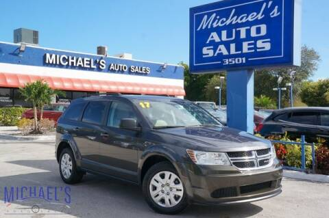 2017 Dodge Journey for sale at Michael's Auto Sales Corp in Hollywood FL