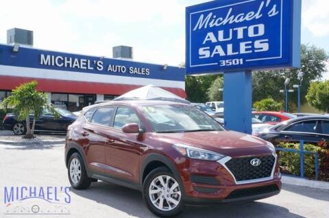 2019 Hyundai Tucson for sale at Michael's Auto Sales Corp in Hollywood FL