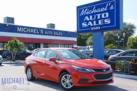 2017 Chevrolet Cruze for sale at Michael's Auto Sales Corp in Hollywood FL