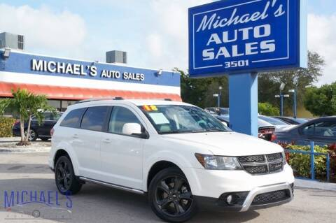 2018 Dodge Journey Crossroad for sale at Michael's Auto Sales Corp in Hollywood FL