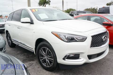 2017 Infiniti QX60 for sale at Michael's Auto Sales Corp in Hollywood FL