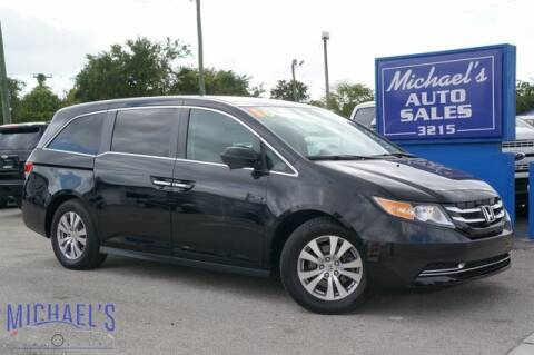 2016 Honda Odyssey SE for sale at Michael's Auto Sales Corp in Hollywood FL