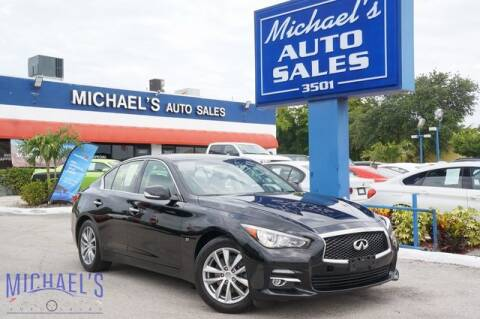 2017 Infiniti Q50 3.0T Premium for sale at Michael's Auto Sales Corp in Hollywood FL