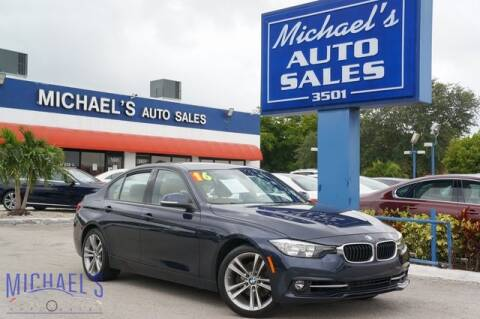 2016 BMW 3 Series for sale at Michael's Auto Sales Corp in Hollywood FL
