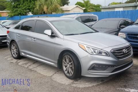 2015 Hyundai Sonata for sale at Michael's Auto Sales Corp in Hollywood FL