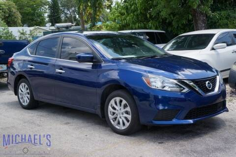 2019 Nissan Sentra for sale at Michael's Auto Sales Corp in Hollywood FL