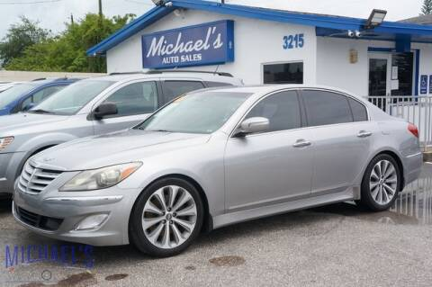 2013 Hyundai Genesis for sale at Michael's Auto Sales Corp in Hollywood FL