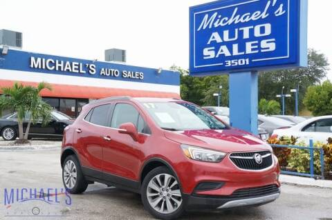 2017 Buick Encore for sale at Michael's Auto Sales Corp in Hollywood FL