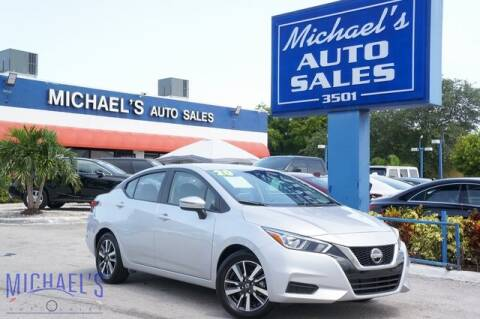 2020 Nissan Versa for sale at Michael's Auto Sales Corp in Hollywood FL