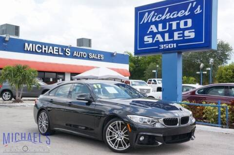 2017 BMW 4 Series for sale at Michael's Auto Sales Corp in Hollywood FL