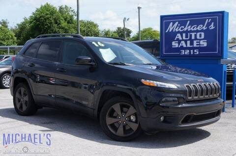 2016 Jeep Cherokee for sale at Michael's Auto Sales Corp in Hollywood FL