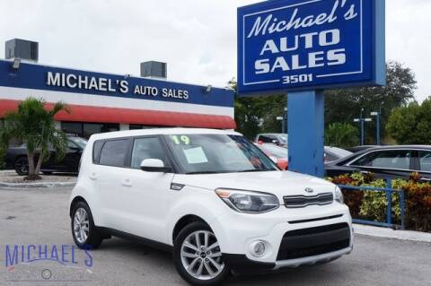 2019 Kia Soul for sale at Michael's Auto Sales Corp in Hollywood FL