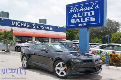 2016 Chevrolet Camaro for sale at Michael's Auto Sales Corp in Hollywood FL