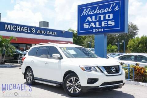 2017 Nissan Pathfinder for sale at Michael's Auto Sales Corp in Hollywood FL