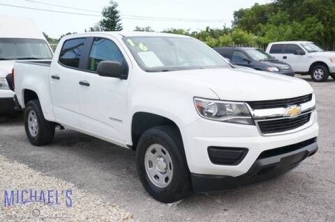 2016 Chevrolet Colorado for sale at Michael's Auto Sales Corp in Hollywood FL