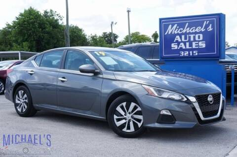 2019 Nissan Altima for sale at Michael's Auto Sales Corp in Hollywood FL