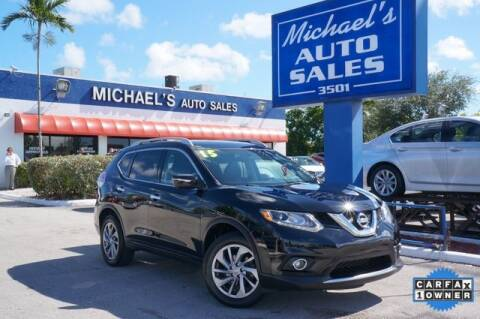2015 Nissan Rogue for sale at Michael's Auto Sales Corp in Hollywood FL