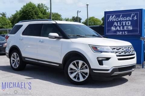 2019 Ford Explorer for sale at Michael's Auto Sales Corp in Hollywood FL