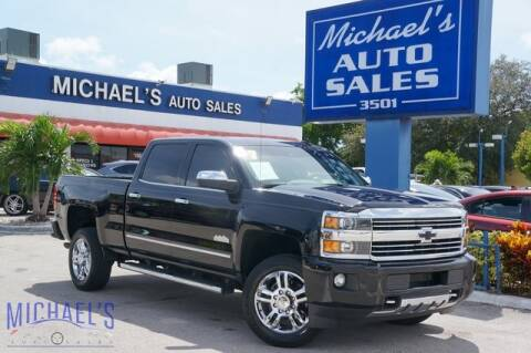 2017 Chevrolet Silverado 2500HD for sale at Michael's Auto Sales Corp in Hollywood FL