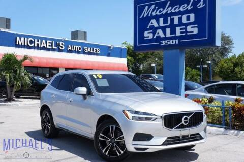 2019 Volvo XC60 for sale at Michael's Auto Sales Corp in Hollywood FL