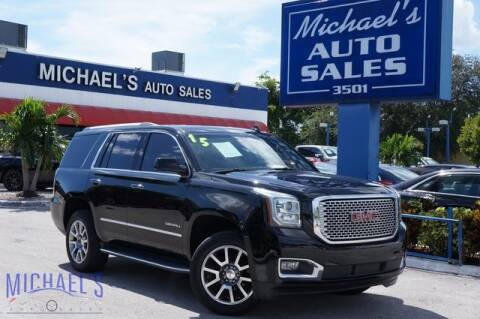 2015 GMC Yukon for sale at Michael's Auto Sales Corp in Hollywood FL