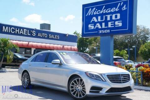 2014 Mercedes-Benz S-Class for sale at Michael's Auto Sales Corp in Hollywood FL