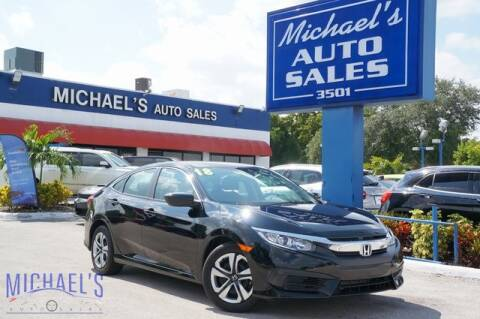 2018 Honda Civic for sale at Michael's Auto Sales Corp in Hollywood FL