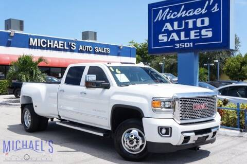 2016 GMC Sierra 3500HD for sale at Michael's Auto Sales Corp in Hollywood FL