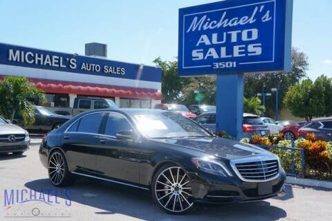 2017 Mercedes-Benz S-Class for sale at Michael's Auto Sales Corp in Hollywood FL