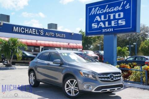 2018 Mercedes-Benz GLA for sale at Michael's Auto Sales Corp in Hollywood FL